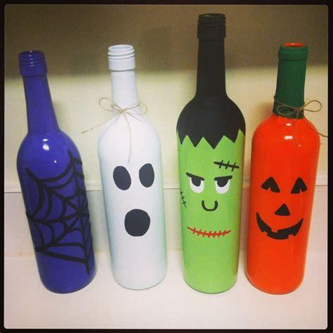 best 20 halloween wine bottles ideas on pinterest