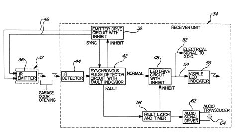 chamberlain garage door opener circuit diagram home