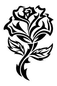 1000 ideas about tribal rose tattoos on pinterest rose