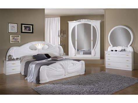 white italian high gloss bedroom furniture set homegenies