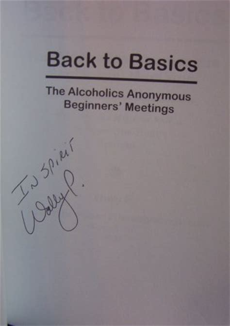 Pdf Back Basics Alcoholics Beginners Meetings by Back To Basics The Alcoholics Anonymous Beginners Meetings