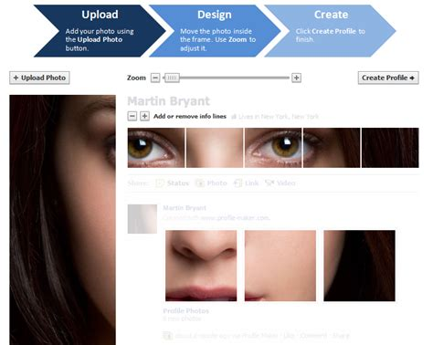 profile biography generator create a great facebook profile photo hack in under 2 minutes