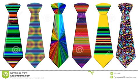 power tie colors colored neckties stock illustration illustration of
