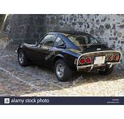 Old German Classic Sport Car Opel GT Stock Photo Royalty