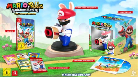 Kaset Nintendo Switch Mario Rabbids Kingdom Battle mario rabbids kingdom battle exklusiv f 252 r nintendo switch angek 252 ndigt insidegames