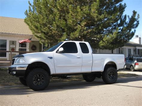 lifted white white 2000 ford f150 lifted www imgkid com the image