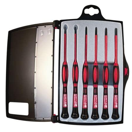 Precision Screwdriver Set 6 Pcs C Mart Tools C0025 Diskon 1 platinum tools 19110 1 kv insulated precision screwdriver set 6 pc