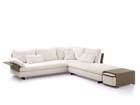 fabric corner sofa with removable covers gossip corner sofa by bonaldo design sergio bicego