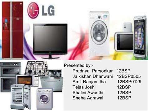 Lg Electronics Mba by Lg Presentation 1