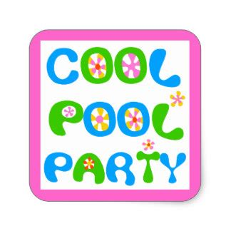 swimming pool stickers zazzle
