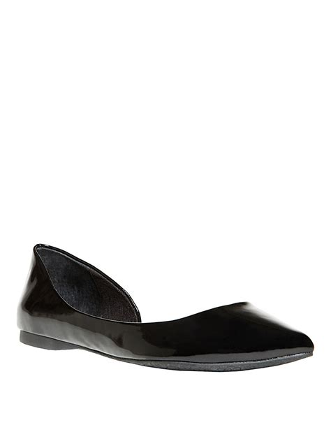 Steve Madden Eccentric Q by Black Steve Madden Flats Leather Sandals