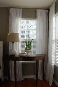 Curtains On Windows With Blinds 1000 Ideas About Cheap Window Treatments On Cheap Windows Sheer Curtains Bedroom
