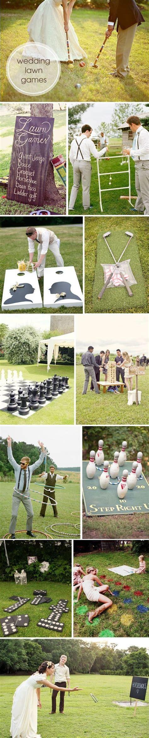 backyard wedding games 45 fun outdoor wedding reception lawn game ideas deer