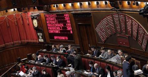 legge stabilit 224 approva riforma testo va al