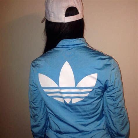 light blue adidas jacket jacket raincoat adidas baby blue white coat adidas