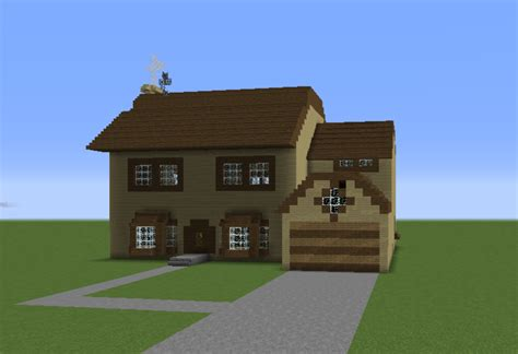 The Simpsons House Grabcraft Your Number One Source Simpsons House Minecraft Blueprints