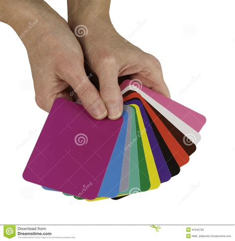 colored white out color healing cards stock photo image 41942756