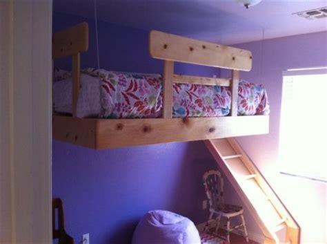 floating bunk beds floating loft bed by steph78 lumberjocks com