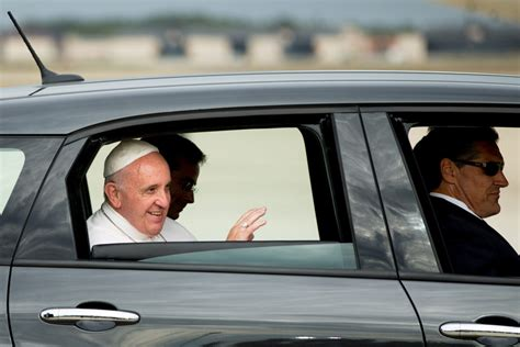 Vatican Issues Driving Commandments by Pope Francis Denounces Road Rage Texting While Driving