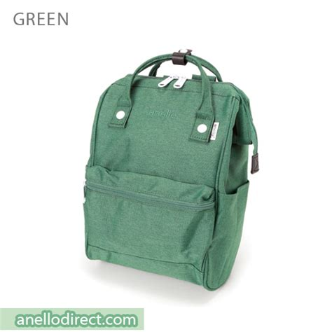 Anello Bag Series Original Green At B0193a anello mottled polyester classic backpack mini size at b2264