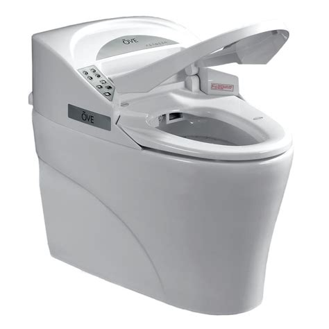 2 In 1 Toilet And Bidet Ove Decors Smart 1 1 28 Gpf Elongated Toilet And