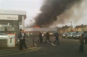 Renault Dealers Durham Blaze Hits Car Dealers Halshaw In Gilesgate