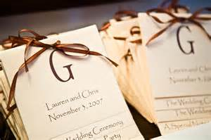 Homemade Wedding Programs Diy Wedding Programs Brittany Barham S Blog