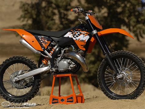 2009 Ktm 125sx Motorcycle March 2009