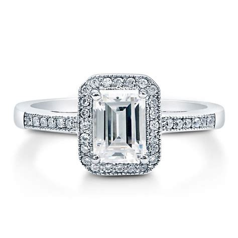what is the emerald cut engagement rings meaning