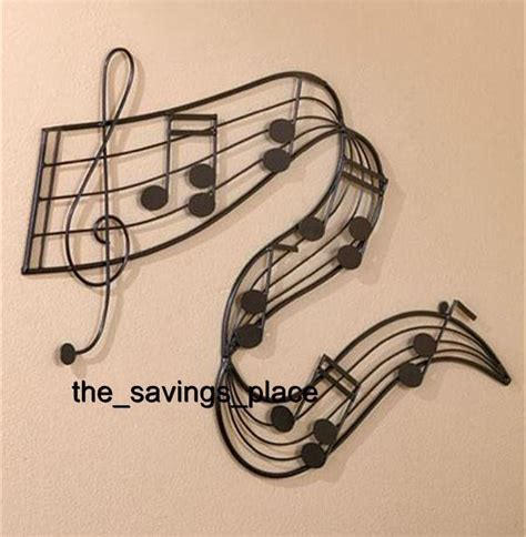 music wall decor unique musical notes wall art sculpture home decor for the