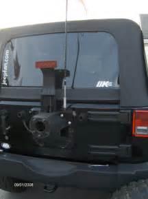 Jeep Cb Antenna Mount Flex Jk Wrangler Cb Antenna Mount Jeepfan