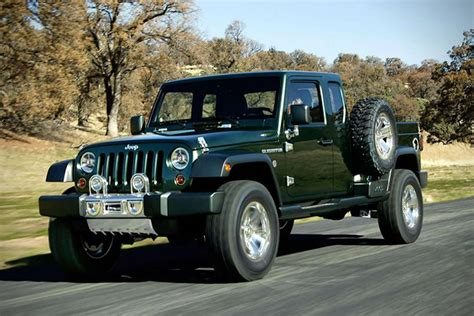 jeep concept truck gladiator jeep gladiator concept hiconsumption