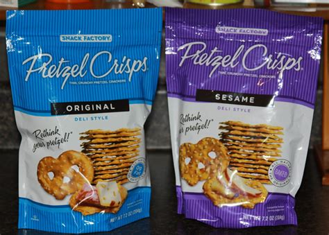 Snack Factory Pretzel Crisps Sesame 204 Gr keepin up with the jone review deal coupon and snack factory pretzel crisps