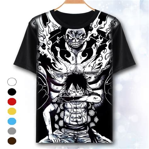 Tshirt E T One Clothing xhtwcy one t shirt luffy straw hat japanese anime