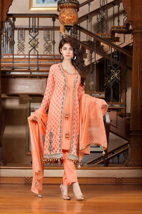 Latest Pakistani Party Dresses and Frock Designs 2017
