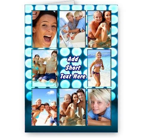 Photo Collage Birthday Cards Uk