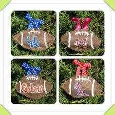 burlap christmas ornaments on pinterest burlap ornaments