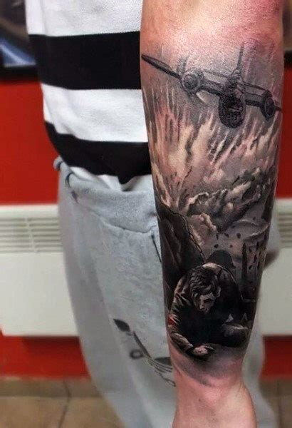 tattoo on wrist military 100 military tattoos for men memorial war solider designs