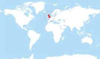 England On World Map by Where Is United Kingdom Located On The World Map