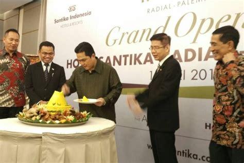 Tv Di Palembang hotel santika palembang hadirkan pelayanan dari hati republika