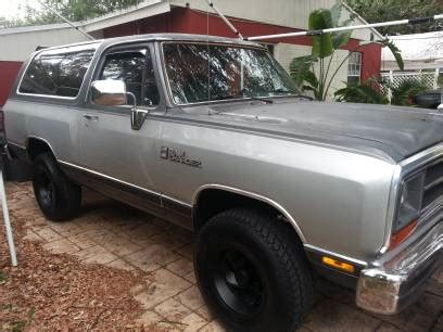 1990 dodge ramcharger for sale in hollywood, south florida