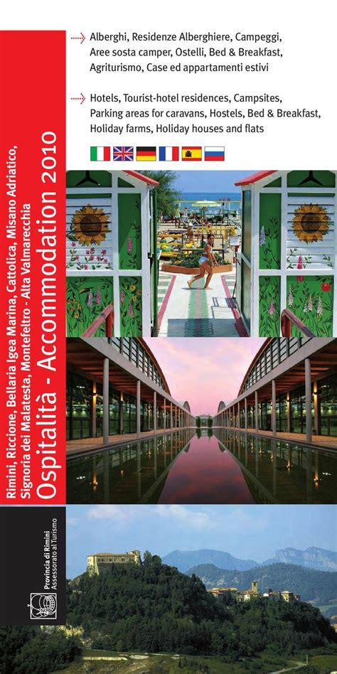 ufficio turismo bellaria ospitalita provincia rn 2010 by provincia di rimini