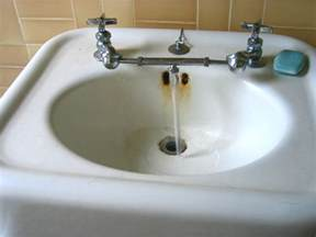 look combine cold faucets on sinks boston