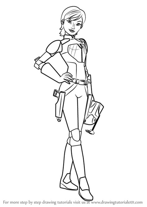 rebels sabine coloring pages ahsoka coloring pages 20 19 black and white wars