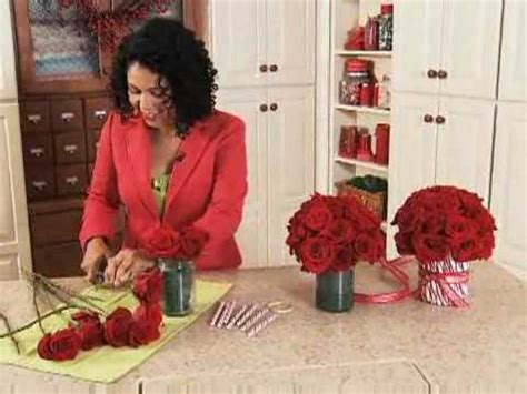 how to do a christmas candy sunday centerpiece vase