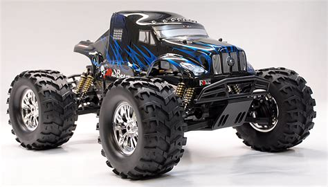 Beast 5 11 Black List Blue 1 8 th scale exceed rc truck madbeast nitro gas