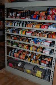 prepared lds family pictures of food storage shelves