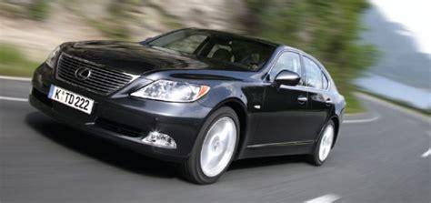 lexus ls recall toyota to recall 11 500 lexus ls model sedans