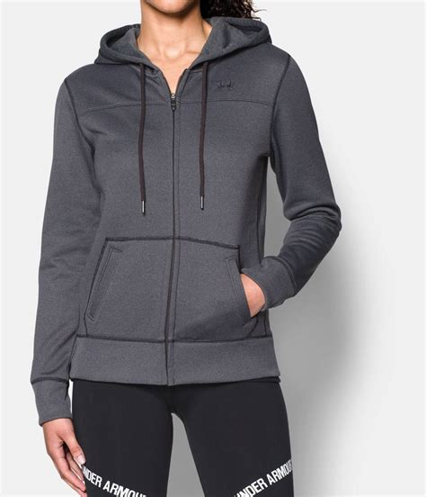 Hoodie Zipper Armour Logo C3 s ua armour 174 fleece big logo zip hoodie armour us