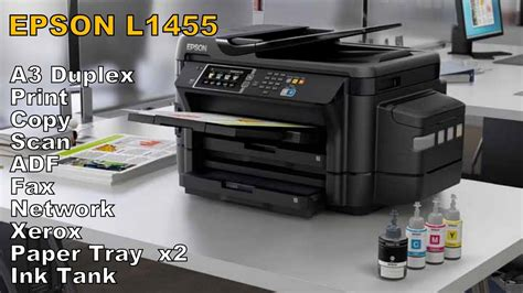 Printer Epson Print Scan Copy A3 a3 duplex print copy scan fax adf inkjet printer epson